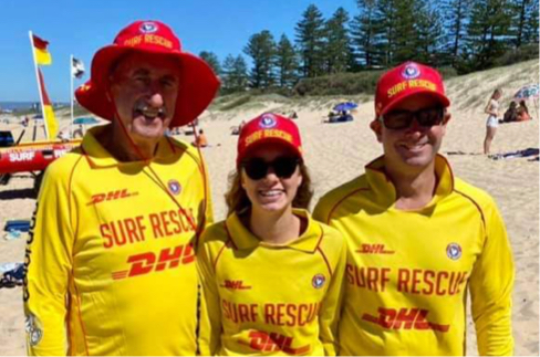 Surf club members